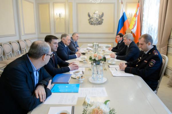 Встреча с руководством Автодора