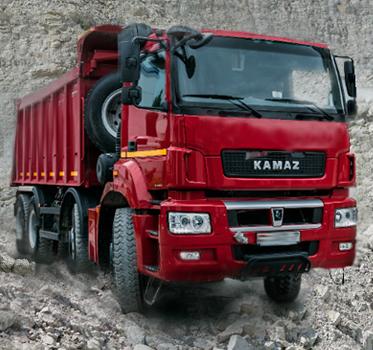 Грузовой автомобиль КамАЗ-65801