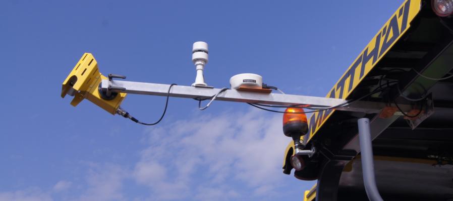 Система контроля сегрегации MOBA Pave IR. Полный контроль качества укладки асфальта.