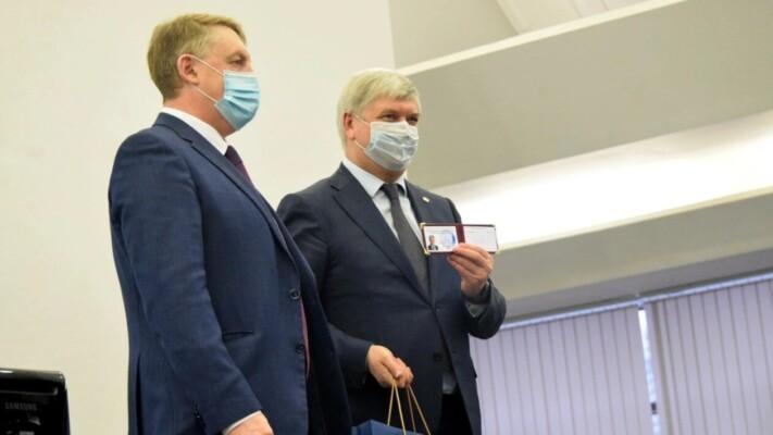 Губернатор Александр Гусев возглавил попечительский совет Воронежского опорного вуза